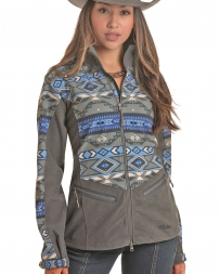 Powder River Outfitters Ladies' Aztec Softshell Jacket