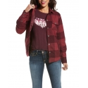 Ariat® Ladies' R.E.A.L. Plaid Shacket