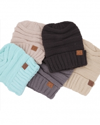Ladies' C.C. Assorted Beanie Hats