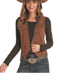 Rock and Roll Cowgirl® Ladies' Microsuede Vest