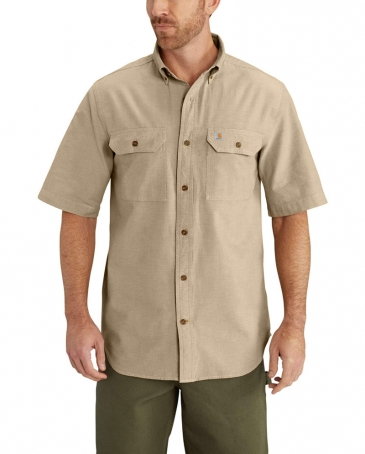 Carhartt® Men's Fort Solid SS Chambray Shirt