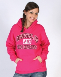 Cowgirl Up® Ladies' Rodeo Department Hoodie