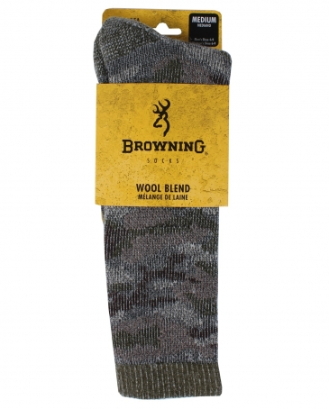 Browning Socks® Men's Camo Wool Blend Socks