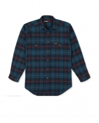 Wrangler® Men's Heavyweight Flannel Shirt - Big and Tall