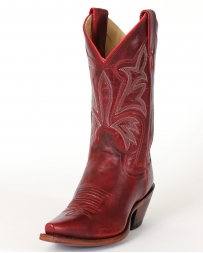 Justin® Ladies' Red Torino Cow Boots