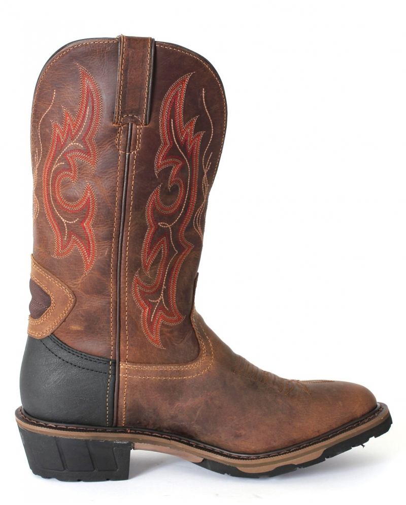 "Justin® Men's Rugged Utah 13"" Western Work Boot - Fort Brands"