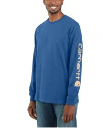Carhartt® Men's LS Logo Tee - Tall