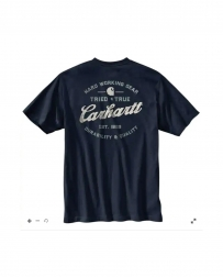 Carhartt® Men's SS Logo Tee - Big and Tall