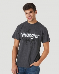 Wrangler® Men's SS Screenprint Logo Tee
