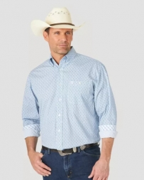 George Strait® Men's Comp LS 1 Pocket Print Shirt - Tall