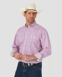 George Strait® Men's LS 1 Pocket Print - Tall