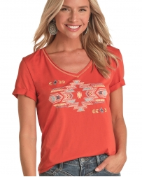 Panhandle® Ladies' Embroidered Graphic Tee - Plus
