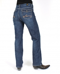 Aura® By Wrangler® Ladies Flap Pocket Jeans