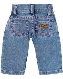 All Around Baby™ by Wrangler® Girls' 5 Pocket Jeans -Infant