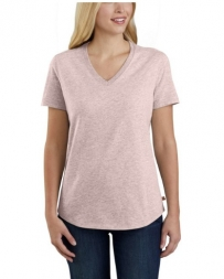 Carhartt® Ladies' Relaxed Fit V-Neck Tee - Plus