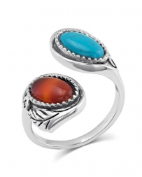 Montana Silversmiths® Ladies' Earth And Sky Adjustable Ring