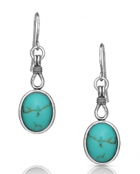 Montana Silversmiths® Ladies' Caught In Turquoise Earrings