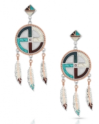 Montana Silversmiths® Ladies' Am Legends Dream Earrings