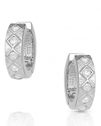 Montana Silversmiths® Ladies' Argyle Shine Huggie Earrings