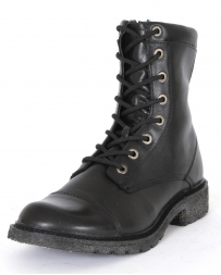 "Durango® Men's Chicago 8"" Black Lace-up Boots"