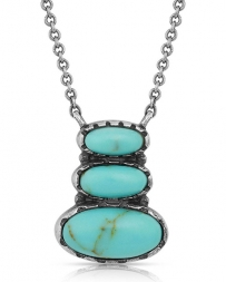 Montana Silversmiths® Ladies' Illusion Turquoise Necklace