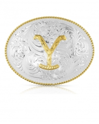 Montana Silversmiths® Yellowstone Dutton Ranch Buckle