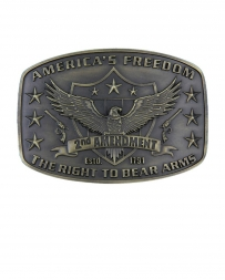 Montana Silversmiths® 2nd Amendment Buckle