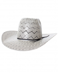 American Hat Company® Patchwork 2-tone Straw Hat