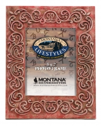 Montana Lifestyles® Red Scroll 5x7 Picture Frame