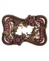 Montana Silversmiths® Ladies' Wild Roses Attitude Belt Buckle