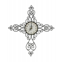 Montana Lifestyles® Antique Scroll Metal Wall Clock
