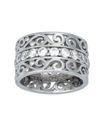 Montana Silversmiths® Ladies' Filigree Channel Ring