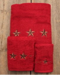 Red Star Towel 3 Piece Set