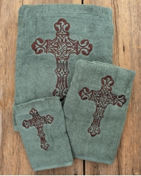 Western Cross Bathroom Towel 3 Piece Set