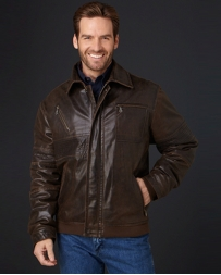 Cripple Creek® Men's Leather Jacket