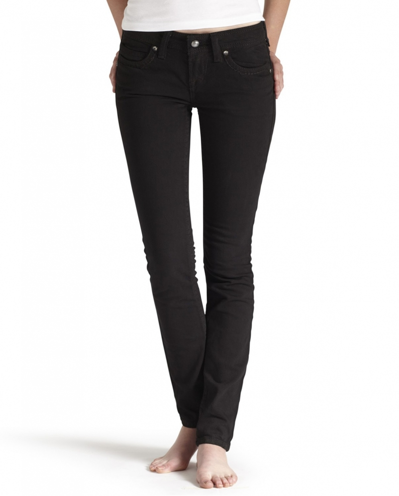 Ariat® Ladies' Onyx Straight Edge Black Jeans - Fort Brands