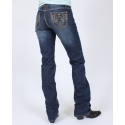 Cowgirl Up® Ladies' Princess Ride Stonewash Jean
