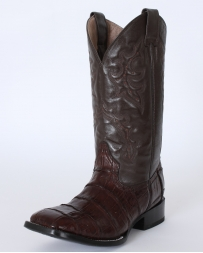 Circle G® by Corral Boots® Men's Econo Line Chocolate Caiman Belly Boots