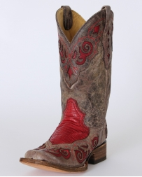 Corral Boots® Ladies' Teju Lizard Inlay Boots