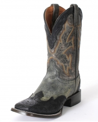 "Stetson® Men's Hand Tooled 11"" Crackle Western Boots"