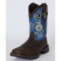 "Durango® Lady Rebel 10"" Brown & Blue FFA Boots"