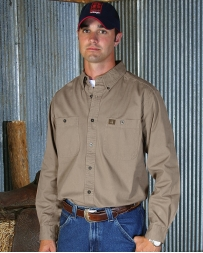 Riggs Workwear® By Wrangler® Men's Twill Long Sleeve Workshirt - Tall