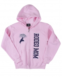 Genuine Ranch® Ladies' Rodeo Mom Zip Front Hoodie