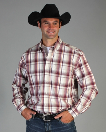 Roper® Men's Amarillo Plaid Shirt