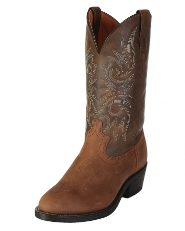 Laredo® Men's Trucker Boots - Distressed Tan