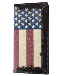 3d® Men's Usa Flag Rodeo Wallet