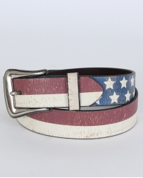3D® Men's Distressed Usa Flag Belt