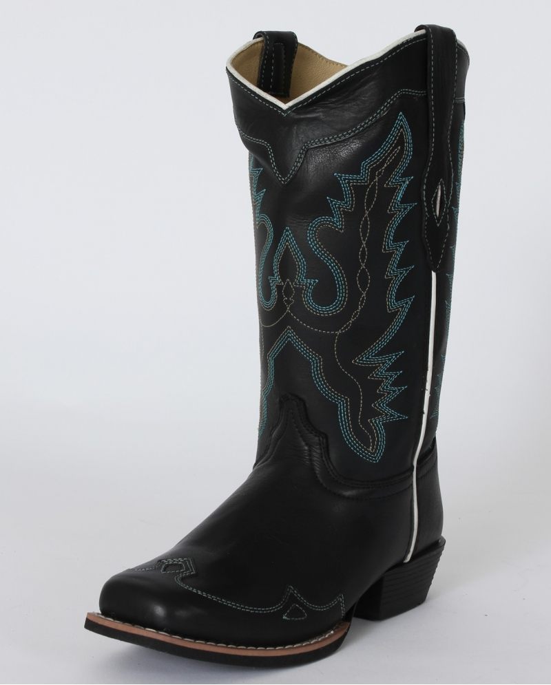 Smoky Mountain® Ladies' Augusta Black Western Boots - Fort Brands