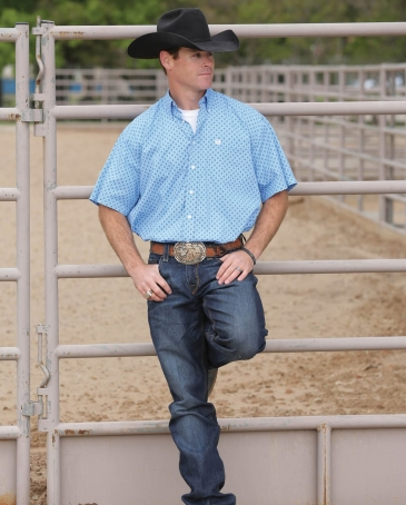 Cinch® Men's Sheldon Print Shirt