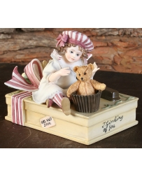 "Jan Hagara® ""Peppermint"" Figurines From ""The Make Believe Series"""